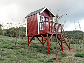 Taman Gaya Country Oleh Sakura Ahşap Country
