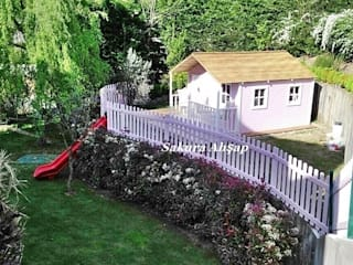Sakura Ahşap Classic style garden
