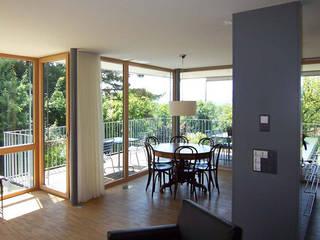 1-3 Familienhaus Eierbrecht, Zürich eidenbenz.architekt Moderne Esszimmer
