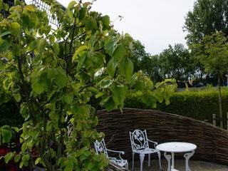 Knus zitje: moderne Tuin door Ontwerpstudio Angela's Tuinen