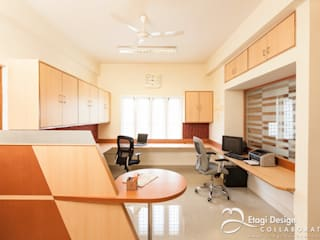 Office Interiors for Aabhath Consulting Pvt Ltd, Bangalore. India. by Etagi Design Collaborative Modern