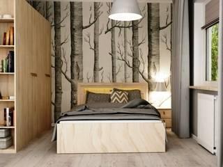 Scandinavian style bedroom by Artenova Design Scandinavian