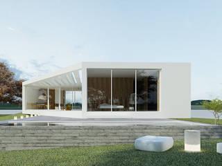 minimalistische Häuser von Artspazios, arquitectos e designers