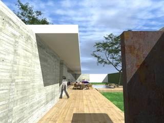CASA GH: Casas de estilo  por ZENDEJAS ARQUITECTOS