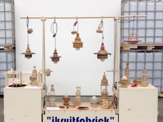 Lampen: modern  door Ingrid Kruit, Modern