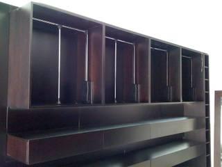 Vestidor: Dormitorios de estilo minimalista por MODULUS