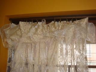 1枚の布から機能性かつ装飾性のあるファションカーテンに!: 株式会社リザ・ボーテが手掛けたです。
