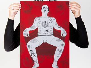 Who is The Real Criminal? ( Papier Blanc 100 g ):  de style  par Mathieu Monfourny