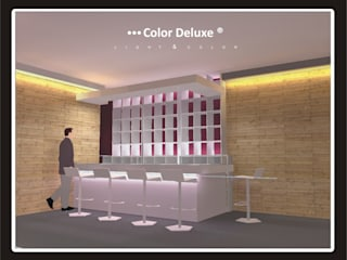 COLOR DELUXE Ruang Media Modern