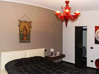Casa Fedele: Camera da letto in stile in stile Eclettico di Occhiuto Felice