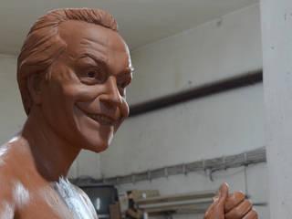 Çamur Sanat  – Joker heykeli:  tarz