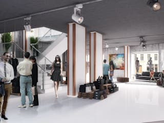 Modern commercial spaces by Visionmaker Modern