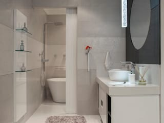 Bathroom by  Adriana Fiali e Rose Corsini - FICODesign , Modern