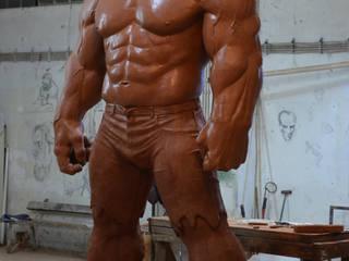 Çamur Sanat  – Hulk heykeli:  tarz