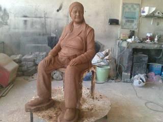 Çamur Sanat  – Pazarcı Teyze Heykeli:  tarz
