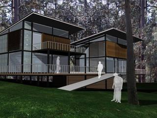 RESIDENCIAL Casas modernas de Karell Studio Moderno
