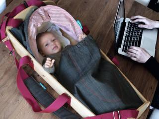 Kidskoje - mobile Babywiege und Spielwagen von Kidskoje Skandinavisch
