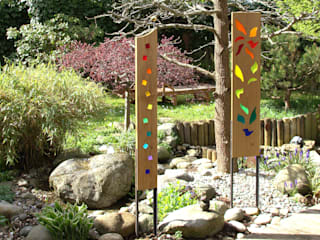 """Gartenkulpturen """"Auriga"""",  """"Orion"""" und """"Andromeda"""" :   von Finke Die Gartenidee"""