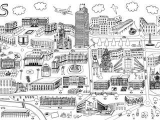 Affiche de Nantes à colorier par AlbaneH Éclectique
