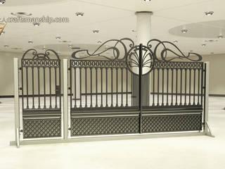TORA bramy i ogrodzenia สวนรั้วและกำแพง