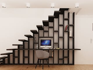 Ale design Grzegorz Grzywacz Oficinas y bibliotecas de estilo moderno