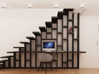 Ale design Grzegorz Grzywacz Oficinas de estilo moderno