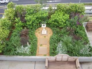 屋上庭園: NICO株式会社が手掛けた庭です。