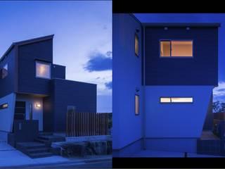 『海を望む家』 オリジナルな 家 の Studio REI 一級建築士事務所 オリジナル