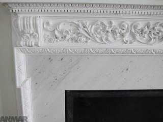 GRANMAR Borowa Góra - granit, marmur, konglomerat kwarcowy Salas/RecibidoresChimeneas y accesorios