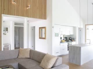 Ferienhaus Grömitz Moderne Wohnzimmer von Architekturbüro Griebel Modern