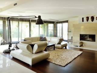 Moderne Wohnzimmer von ARCHITEKT.LEMANSKI Modern