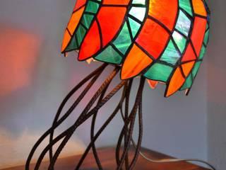 Lampe Médusa par 1, 2, 3...Silice! Éclectique