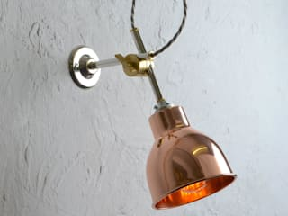 Copper Wall Light:   by Artifact Lighting Ltd.