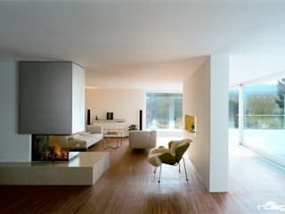 Modern living room by ofenmanufaktur. meisterbetrieb Modern
