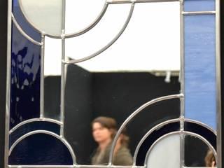 Miroir Art Déco par 1, 2, 3...Silice! Moderne