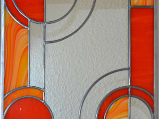 Miroir Art Déco par 1, 2, 3...Silice! Éclectique