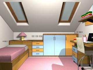 Quarto infantil moderno por JP.design Moderno