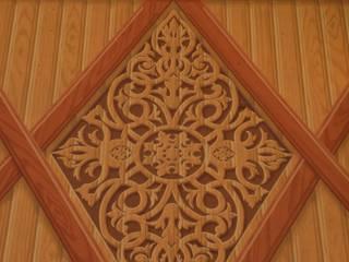 un cottage a genova:  in stile  di Arte sui muri s.s.