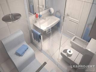 LK&700: styl , w kategorii Łazienka zaprojektowany przez LK & Projekt Sp. z o.o.,