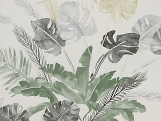 A superb collection of watercolour wallpaper designs by Lara Costafreda de Paper Moon Rural