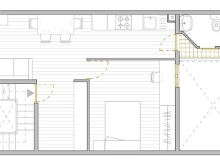 Planta de la propuesta final:  de estilo  de MMMU Arquitectura i Disseny