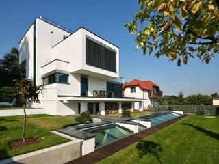 dom xv w Krakowie Nowoczesne domy od RS+ Robert Skitek Nowoczesny