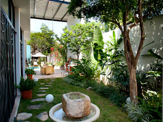 Giardino in stile  di Taller Estilo Arquitectura, Moderno