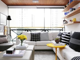 Modern Living Room by Now Arquitetura e Interiores Modern