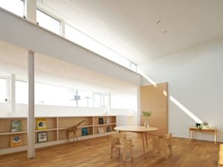 甲斐の家: MAMM DESIGNが手掛けた子供部屋です。,