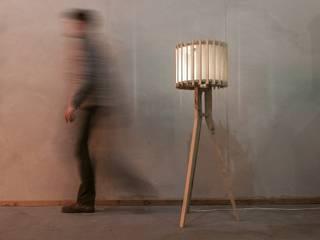 Lampen serie Lamel: modern  door Samosa 'Ontwerp op Maat', Modern