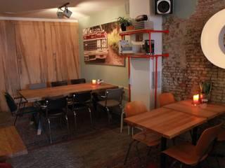 Interieur Borrel en Eetbar 'De Winkel' Oss:  Gastronomie door Samosa 'Ontwerp op Maat'