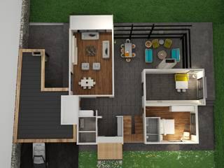 Özer Orhan İçmimarlık – Villa Projesi: modern tarz , Modern