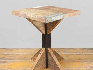Möbel aus alten Gerüstbohlen von Vinterior Rustikal