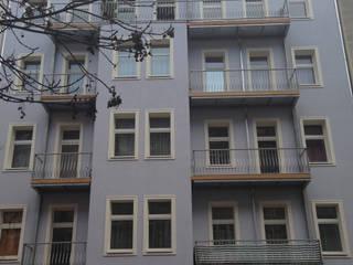 BU8+9 Fassade nachher:   von STELLWERK architekten